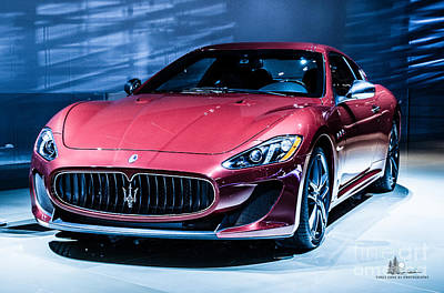 Photograph - Maserati by Ronald Grogan