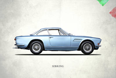 Maserati Sebring 3700 Art Print