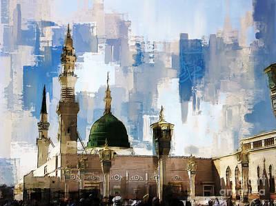 Masjid-e-nabvi Original by Gull G