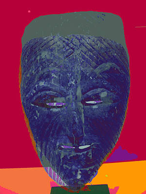 Mask 10 Art Print by Noredin Morgan