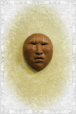 Photograph - Mask 4 by Don Lovett