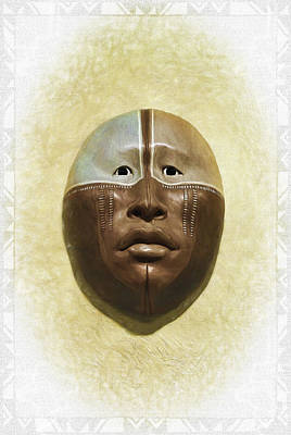 Photograph - Mask 6 by Don Lovett