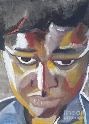 Mask Art Print by Arin Brock