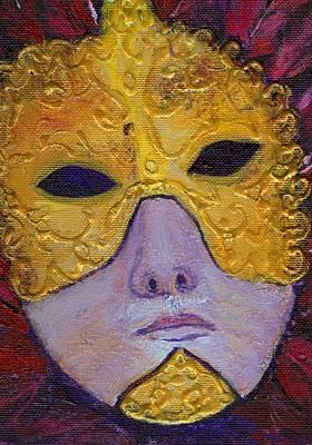 Mask Art Print by Birgit Schlegel