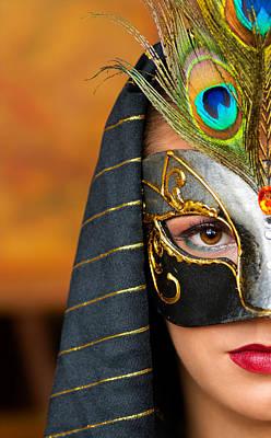 Carneval Photograph - Mask by Dean Bertoncelj