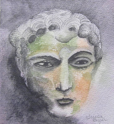 Painting - Mask II by Teresa Beyer