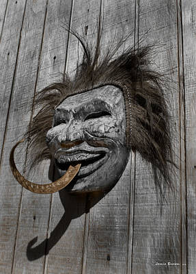 Photograph - Mask by Jamieson Brown