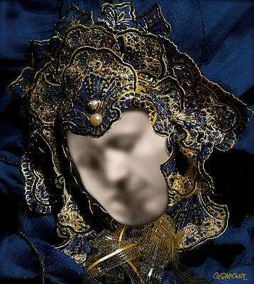 Photograph - Mask Of Love by Gianni Sarcone