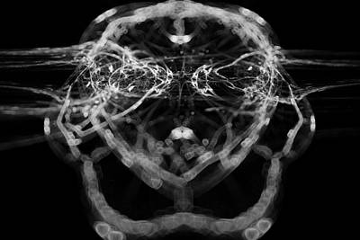 Digital Art - Mask Of Mandel by Sleepless Monk