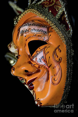 Photograph - Mask Of Music by Steve Purnell