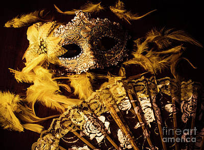 Mask Of Theatre Art Print