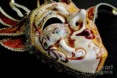 Photograph - Mask Of Venice by Steve Purnell