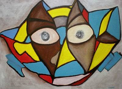 Olympic Sports - Mask by Philip Okoro