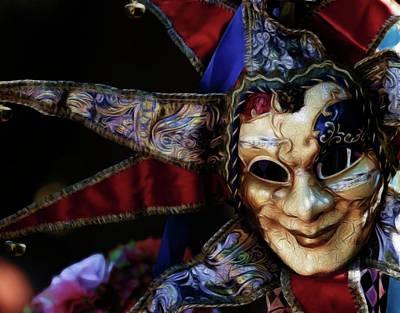 Photograph - Mask by Steve McKinzie