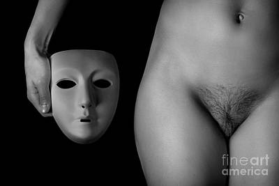Naked Vagina Photograph - Masked by Exposed Arts