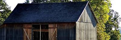 Jerry Sodorff Royalty-Free and Rights-Managed Images - Manson Barn P 4633 by Jerry Sodorff