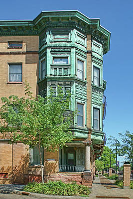 Photograph - Kirk Apartment Building - Mason City - Iowa by Nikolyn McDonald