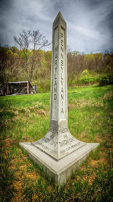 Freed Slaves Photograph - Mason Dixon Line by Stephen Stookey