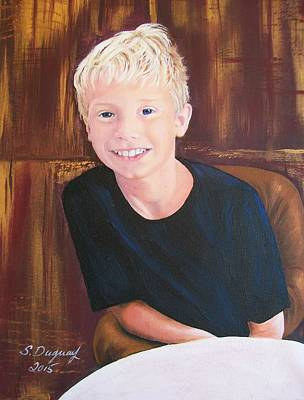 Painting - Mason  by Sharon Duguay
