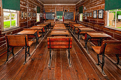 Old Town San Diego Photograph - Mason Street School by Christopher Holmes