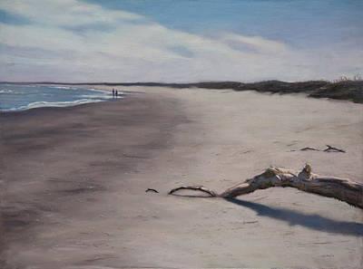 Pastel - Masonboro Driftwood by Christopher Reid