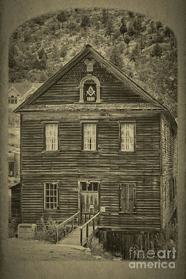 Albumen Photograph - Masonic Hall by Robert Bales
