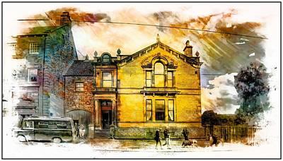 Masonic Lodge 2 Art Print by John Lynch