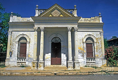Photograph - Masonic Lodge Cuba by David Zanzinger