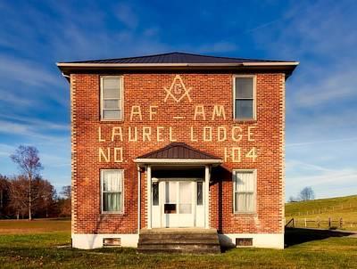 Photograph - Masonic Lodge by L O C