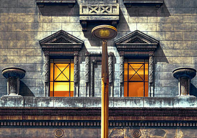 Photograph - Masonic Lodge by Wayne Sherriff