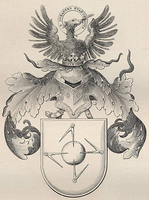 Freed Drawing - Masonic Seal by English School