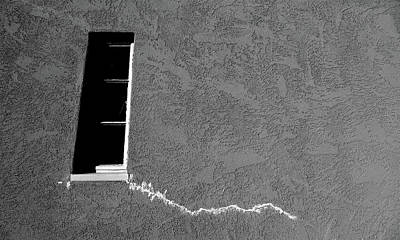 Photograph - Masonic Window by CML Brown