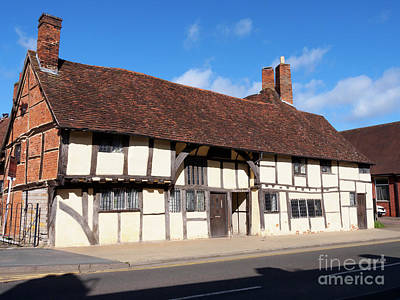 Photograph - Masons Court In Stratford Upon Avon Warwickshire by Louise Heusinkveld