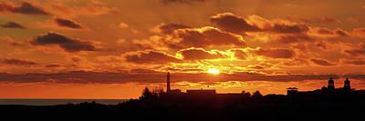 Maspalomas Sunset Panorama Art Print by Marc Huebner