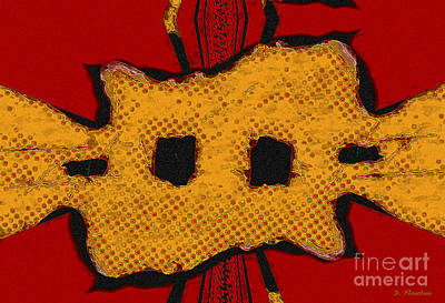 Ebsq Digital Wall Art - Digital Art - Masquerade 1 by Dee Flouton