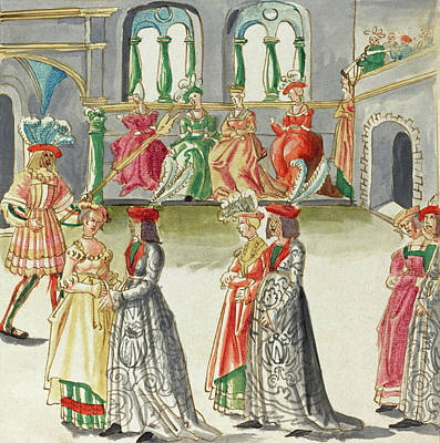 Painting -  Masquerade #12 by German 16th Century