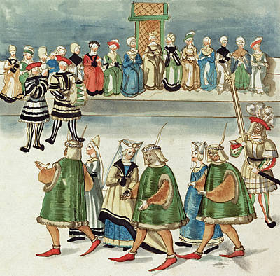 Painting -  Masquerade #13 by German 16th Century