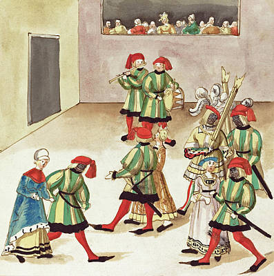 Painting - Masquerade #17 by German 16th Century