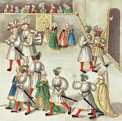 Painting -  Masquerade #18 by German 16th Century