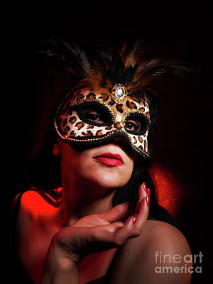 Photograph - Masquerade 3 by Dorothy Lee