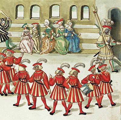 Painting -  Masquerade #6 by German 16th Century