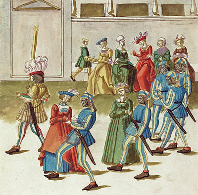 Painting -  Masquerade #9 by German 16th Century