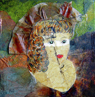 Mixed Media - Masquerade Beauty by Michele Avanti