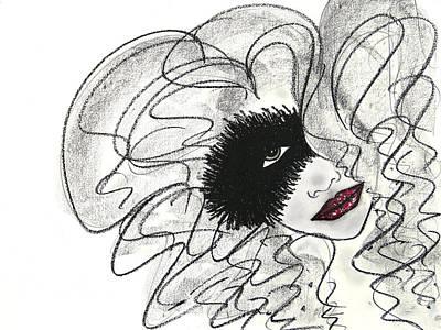 Painting - Masquerade by Christine Regan Lake
