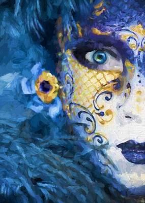 Masquerade I Art Print