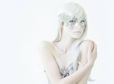 Photograph - Masquerade In White by Diane Diederich