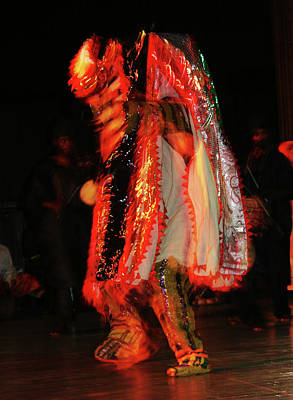 Photograph - Masquerade Dancing Steps by Muyiwa OSIFUYE
