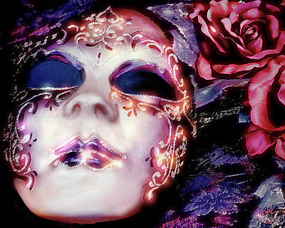 Digital Art - Masquerade by Pennie  McCracken