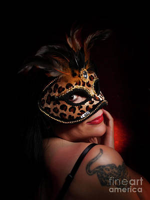 Photograph - Masquerade Smile by Dorothy Lee