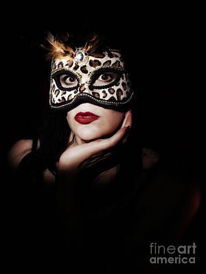 Photograph - Masquerade Through The Shadows by Dorothy Lee